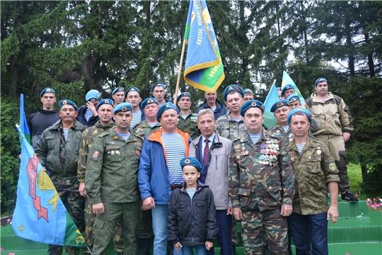 Десантники Чебоксарского района почтили память погибших на фронтах Второй мировой войны