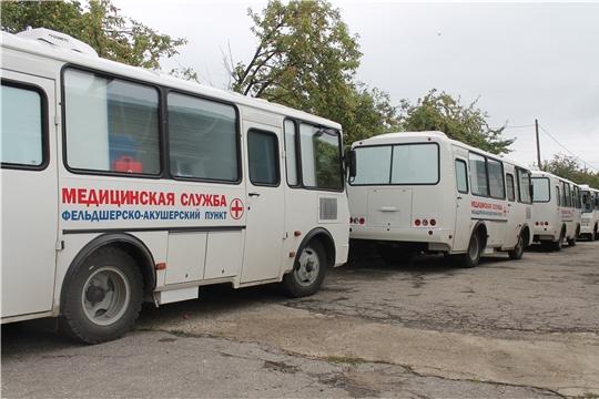 В рамках национального проекта «Здравоохранение» в Чебоксарский район поступит передвижной медицинский комплекс