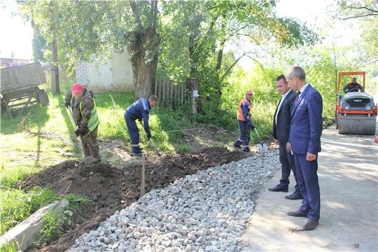 В селе Чемурша завершается ремонт дорог по 3 улицам