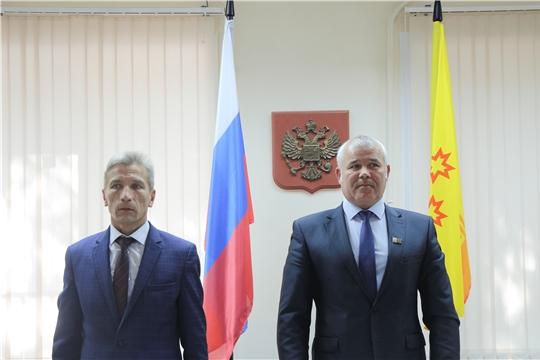 Состоялось очередное 38 заседание Собрания депутатов Чебоксарского района Чувашской Республики шестого созыва