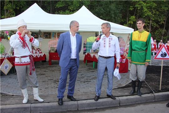 Чебоксарский район на праздновании 550-летия города Чебоксары