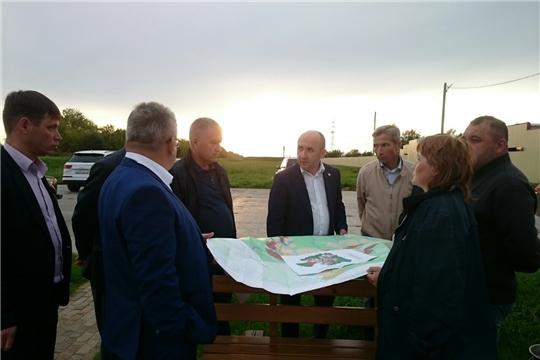 Министр сельского хозяйства ЧР Сергей Артамонов посетил с рабочим визитом Чебоксарский район