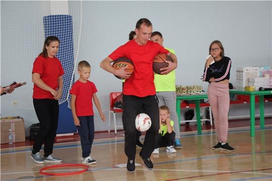 Спортивно-оздоровительный фестиваль «Папа, мама, я – спортивная семья» собрал активные семьи в Чебоксарском районе