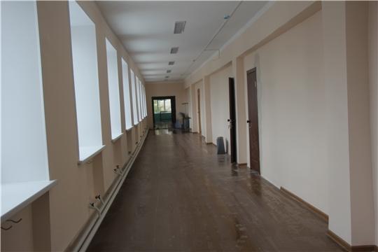 Председатель Государственного Совета Чувашской Республики проверила состояние готовности образовательных учреждений Чебоксарского района к новому учебному году