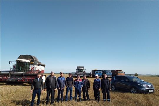 В трех сельхозпредприятиях района завершена уборка зерновых