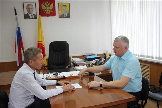 Состоялась встреча с новым руководителем ООО «Агрохолдинг «Юрма»
