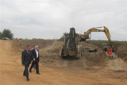 О ходе реконструкции участка дороги «Кугеси-Икково-Тохмеево»