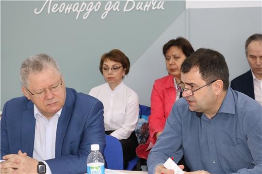 Актуальные вопросы проекта «Жилье и городская среда» обсуждены на форуме, посвященном реализации национальных проектов в Чувашии