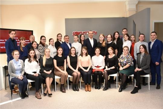 Михаил Игнатьев призвал молодежь республики принять активное участие в реализации национальных проектов