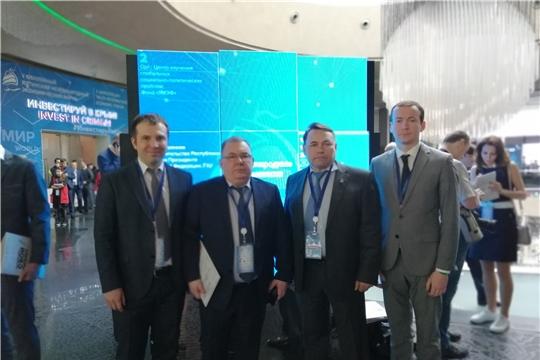 Подписано соглашение о взаимодействии и сотрудничестве  между Фондом развития промышленности и инвестиционной деятельности в Чувашской Республике и Крымским региональным фондом развития промышленности