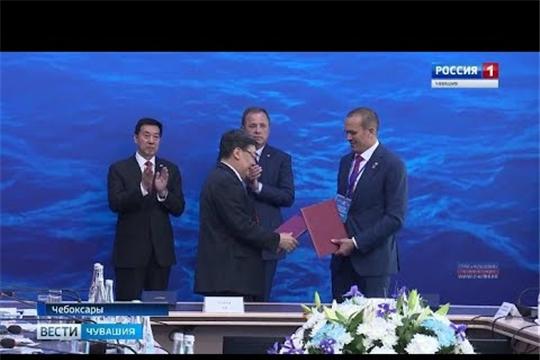 Чувашия подписала два соглашения с китайскими партнерами, а у Чебоксар появился город-побратим Хэфей