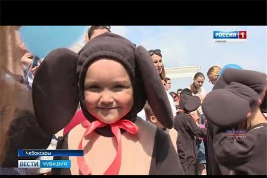 В День защиты детей в парке имени 500-летия Чебоксар прошел праздник Чебурашки