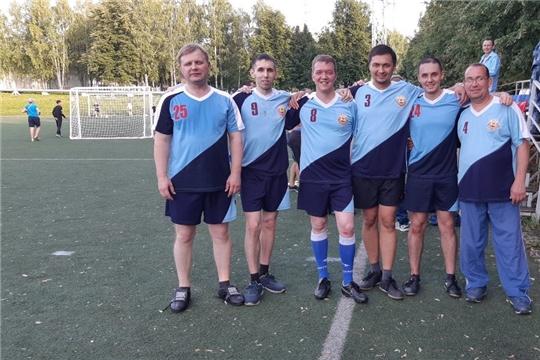 Коллектив Минэкономразвития Чувашии принял участие в соревнованиях по мини-футболу