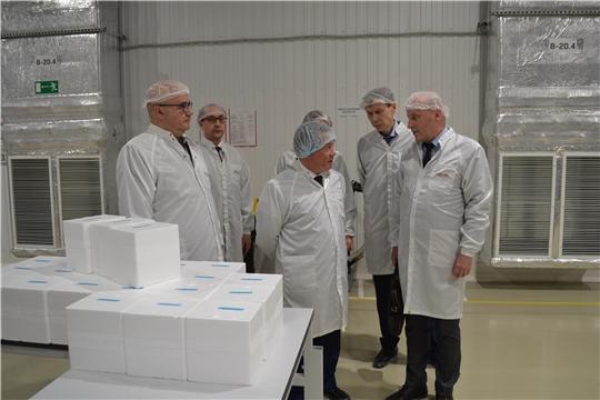 Представитель Минпромторга России посетил ряд промышленных предприятий Чувашии