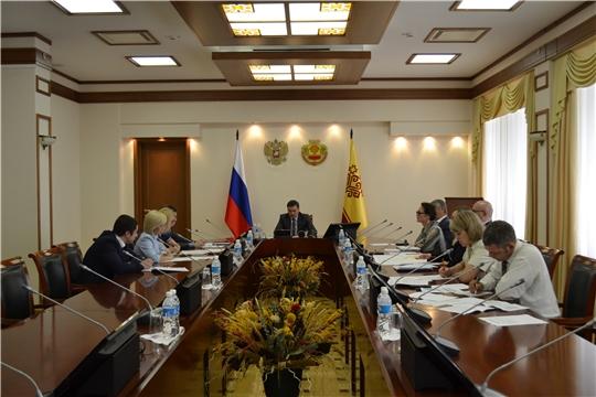 Иван Моторин провел заседание рабочей группы по подготовке заявки на создание территории опережающего социально-экономического развития в моногороде Новочебоксарск