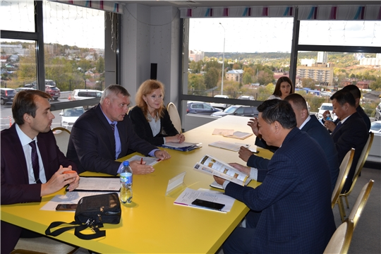 Китайская делегация в Чувашии