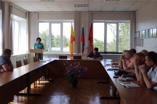 В Алатыре состоялось совместное заседание двух комиссий – антинаркотической  и по профилактике правонарушений