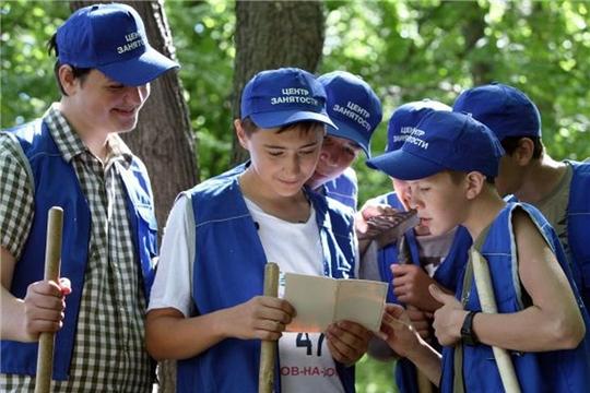 г. Алатырь: несовершеннолетние, желающие провести летние каникулы с пользой, объединены в подростковые трудовые бригады