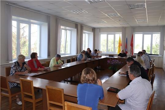 Обсуждены вопросы подготовки к празднованию 467-ой годовщины основания города Алатыря