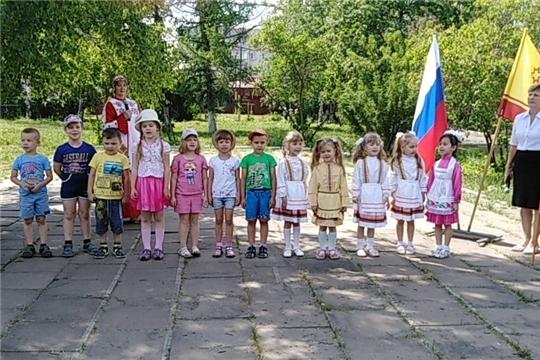г. Алатырь: торжественное мероприятие, которое состоялось в детском саду «Родничок», было посвящено Дню республики
