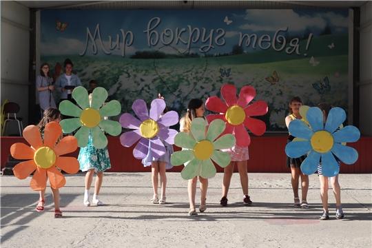 Открытие второй смены в лагере «Янтарный» было приурочено ко Дню молодёжи
