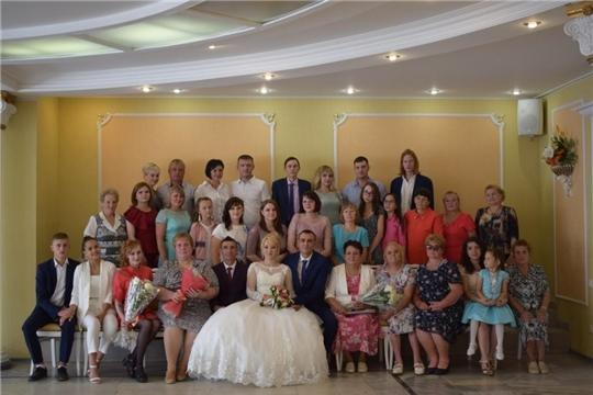 Главные события в жизни горожан совпали с прекрасным праздником Днём семьи, любви и верности