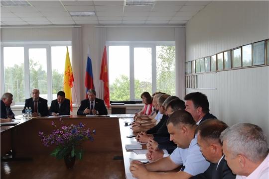 На должность главы администрации города Алатыря депутатами назначен В.И. Степанов