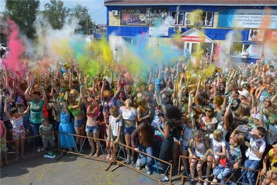 В Алатыре пройдёт традиционный «Фестиваль красок»