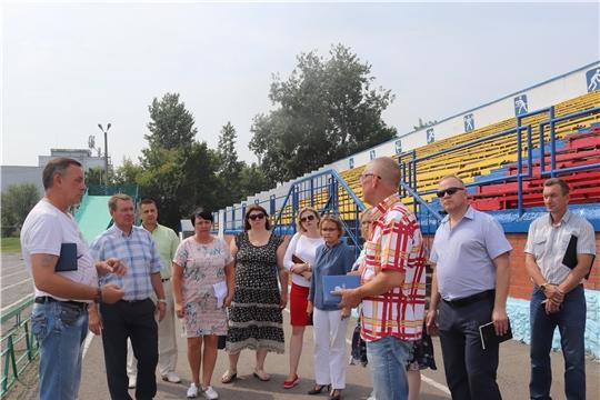 Глава администрации города Алатыря В.И. Степанов совершил очередной объезд города