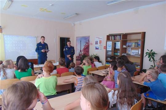 В БУ «Алатырский социально-реабилитационный центр для несовершеннолетних» уделяется большое внимание противопожарной безопасности