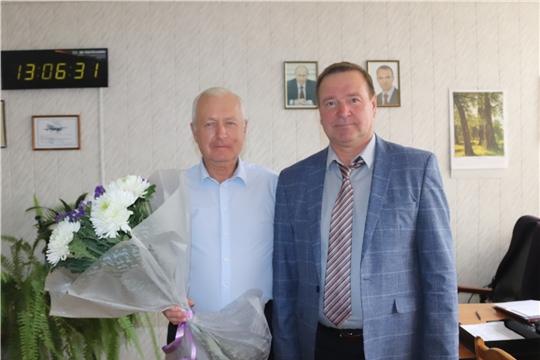 г. Алатырь: ровно 20 лет акционерным обществом «Завод «Электроприбор» руководит А.Н. Афанасьев