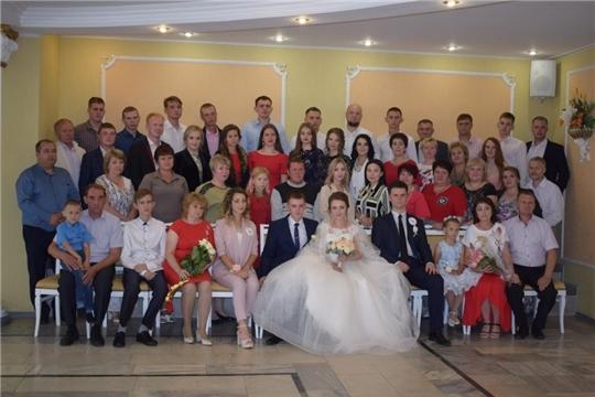 Новыми актами о браке и рождении поздравляли Алатырь с 467-летием его жители