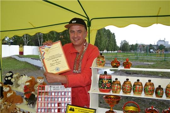 В Алатыре прошла выставка народных промыслов и ремёсел «Золотой колчан»