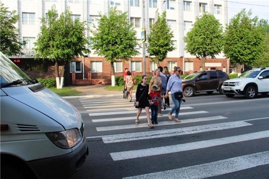 В Алатыре проходит оперативно–профилактическое мероприятие «Участковый - Пешеход - Водитель»