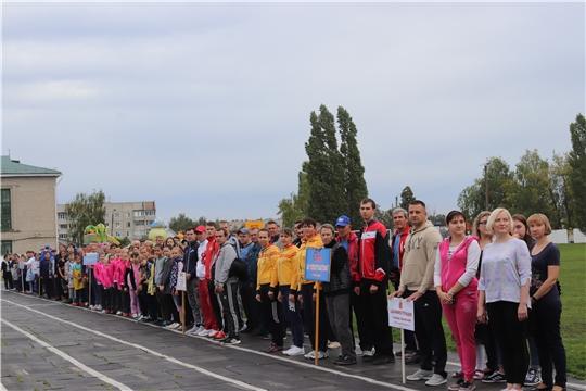 В Алатыре состоялся спортивный праздник, посвящённый Дню физкультурника