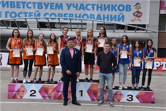 Алатырские баскетболистки – победители и призёры республиканских соревнований