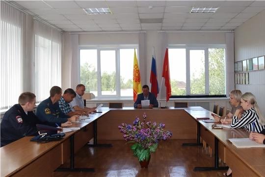 Состоялось заседание антитеррористической комиссии города Алатыря