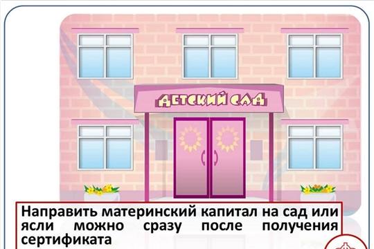 Материнский капитал – на оплату детского сада