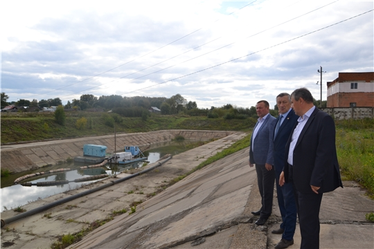 В Алатыре побывал министр Чувашской Республики по делам гражданской обороны и чрезвычайным ситуациям В.И. Петров