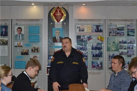 В Алатырском филиале ЧГУ состоялось мероприятие, посвящённое Дню солидарности в борьбе с терроризмом