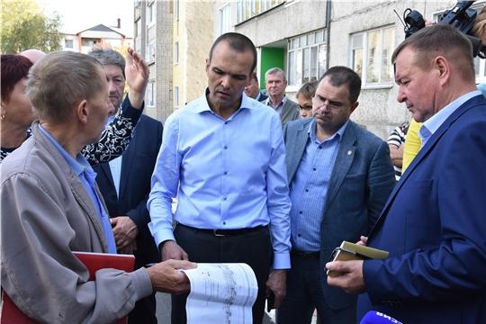 Алатырь посетил Глава Чувашии Михаил Игнатьев
