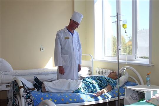 В Алатырской центральной районной больнице сделали холедоходуоденостомию 87-летней пациентке