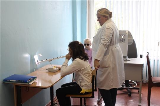 В Алатыре более 300 детей улучшили зрение после занятий в Пункте охраны зрения