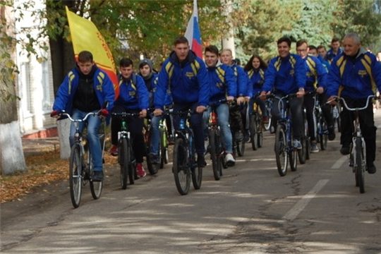 Алатырский филиал СамГУПС провёл очередной велопробег
