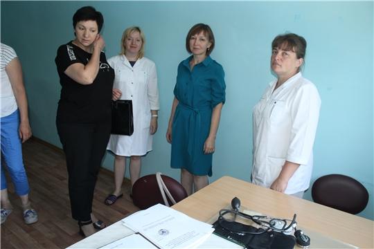 г. Алатырь: в детском оздоровительном лагере «Янтарный» проверили работу медкабинета