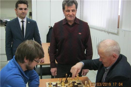 550 лет столице Чувашии: в Московском районе г.Чебоксары прошёл турнир по шахматам среди старшего поколения