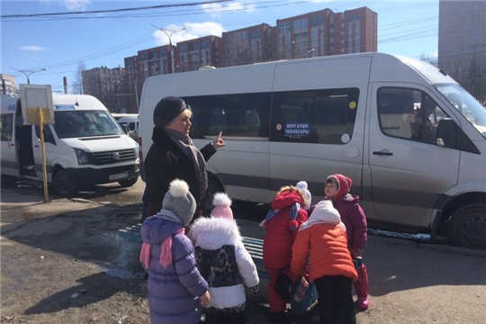 Пешие прогулки по Чебоксарам: дети побывали на автостанции «Новосельская»