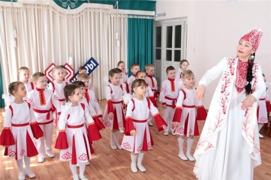 Воспитанники детских садов города Чебоксары приобщаются к культурному наследию столицы Чувашии