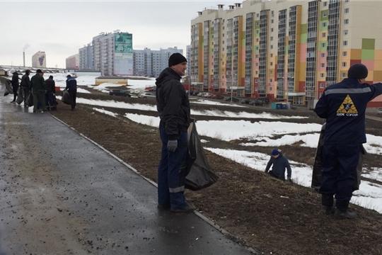 Экологические субботники: в Ленинском районе Чебоксар активно идет подготовка к 550-летию города