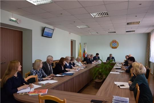С рабочего совещания начался Единый информационный день в Московском районе г.Чебоксары